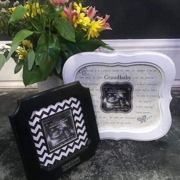 personalized ultrasound frames 3d Ultrasound keepsake gift shop for pregnancy