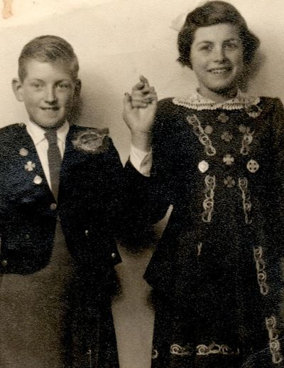 "Brother & Sister  My Uncle Gay Farnan & Beautiful Mom Elizabeth ""Colette"" Daly"