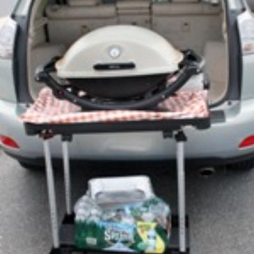 TAILGATE TABLE CAMPING CART CAMPING TABLE FOLDING TABLE FOLDING CART BARBECUE CART