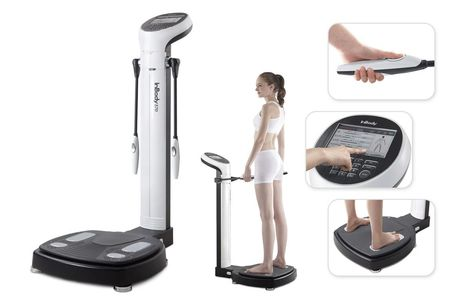 Body composition test, new technology, high tech, fast scan, crossfit