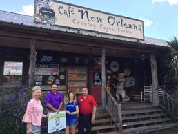 Congratulations to Café New Orleans for being chosen as the St. Martin Business Yard of the Month fo