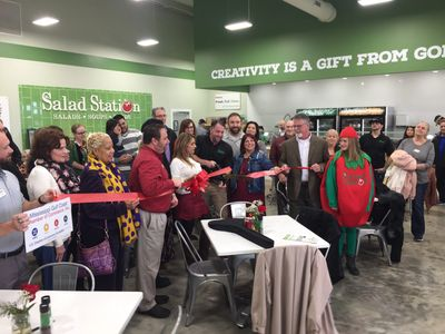 The Salad Station Grand Opening 12/21/2018.