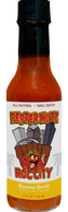 PepperNutz small batch all natural artisan crafted Banana Chipotle hot sauce - Banana Bomb