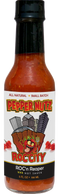 PepperNutz small batch all natural artisan crafted Carolina Reaper hot sauce - ROC'n Reaper