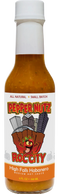 PepperNutz small batch all natural artisan crafted Mango Habanero hot sauce - High Falls Habanero