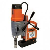 Magnetic broaching drilling machines