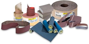 Abrasive sanding products