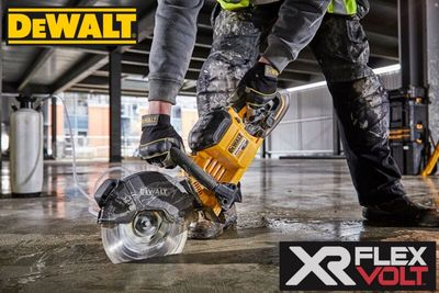 Dewalt DCS690 Flex volt 230mm disc cutter