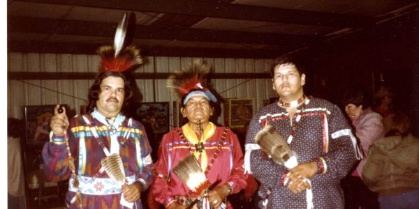 Photo of Tom Roy, James Roy Jr. and David Roy.