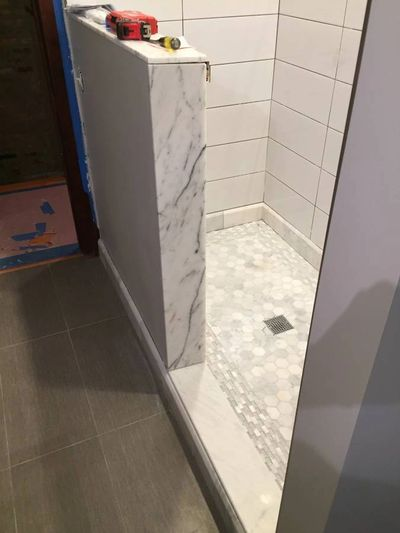 The end product of our bathroom remodeling services in Austin, TX