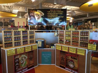 Monkey McGee Salsa & Sauce Company at craft shows