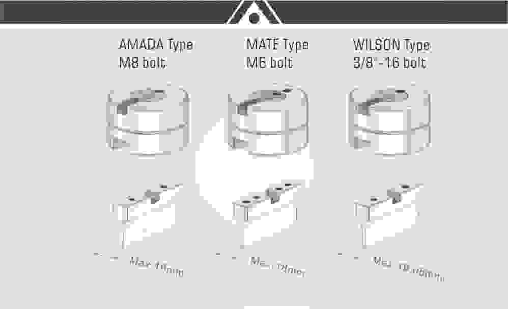 amada thick turret mate wilson tool slitting  d station
