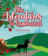 Shana Thornton Adventures to Pawnassus, literary dogs, yoga, fairytales, Nashville, bookstore, dog.