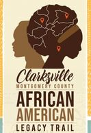 The Clarksville/Montgomery County African American Legacy Trail, free community publication brochure