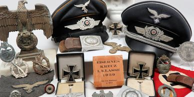 We Buy and Sell WW2 German Third Reich Memorabilia. Sell Your Original WWII German Militaria today.