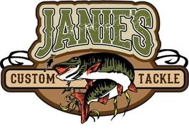 "Janie's Custom Tackle is just that.... Custom!  So contact us if you have a ""hot"" color you want!!"