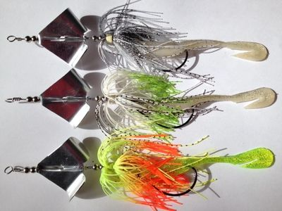 JAMIT WEEDLESS INLINE BUZZ BAIT