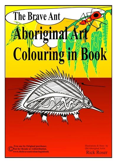 Aboriginal colour in book