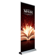 Roller Banner with Interchangeable Graphics
