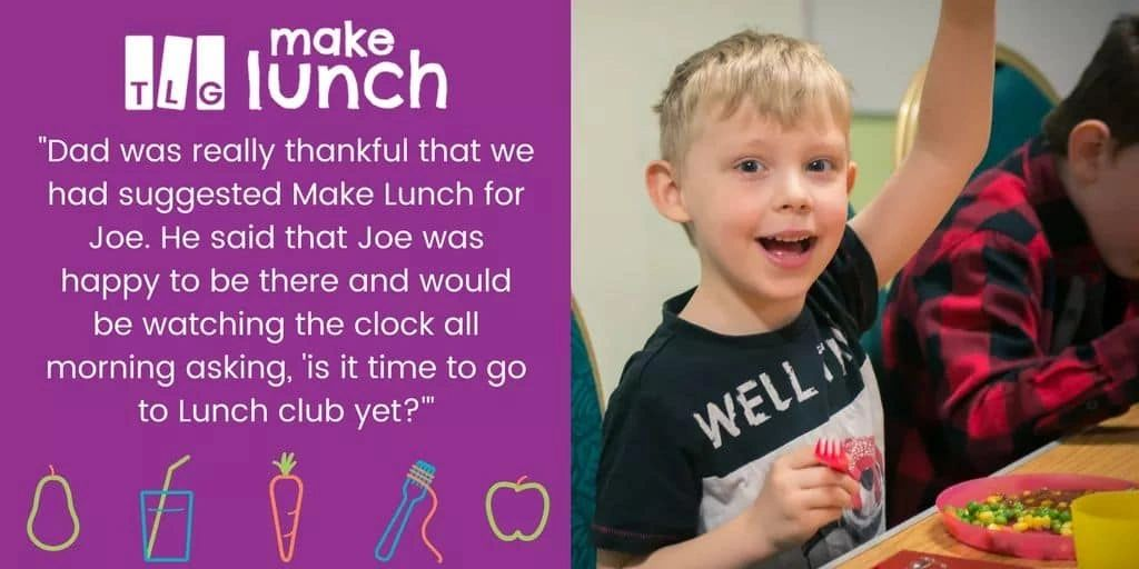 Make Lunch is running in Half Term!  See Whats Happening for more details