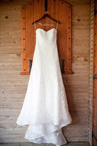Wedding Gown Pressing