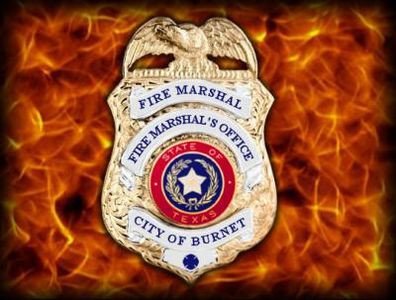 April 2020 Update from Burnet County Fire Marshal...