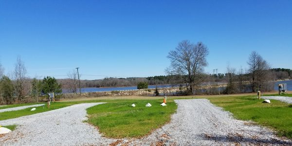 Lake Hartwell RV lots for rent. Lake Hartwell RV park.