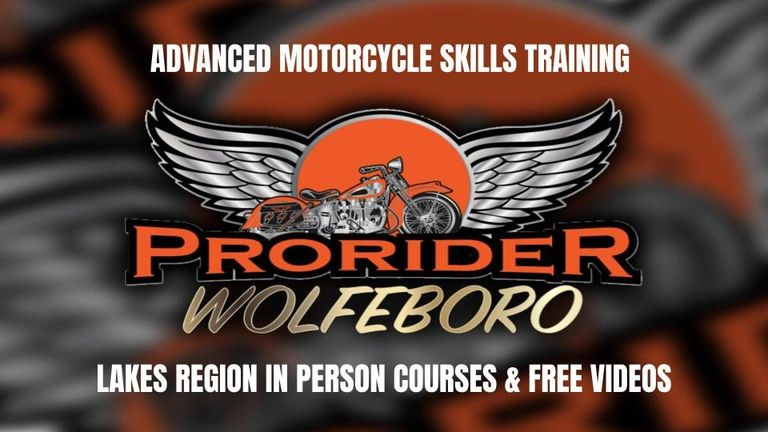 Lakes Region Premier Advanced Skills Motorcycle Training Course! Certified  instructors. Slow speed