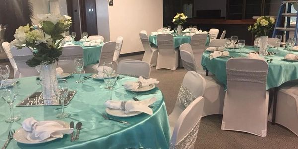 Aaladin's Wedding Decor & Rentals in Great Fallls MT serving Augusta MT and central Montana