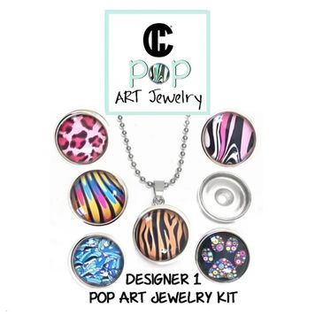 jewelry Kit with Snap Charms