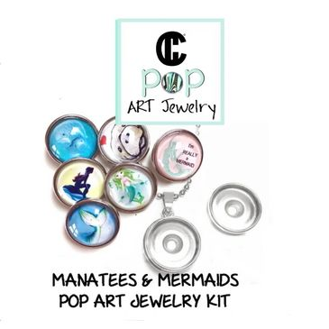 Manatee and Mermaid Jewelry