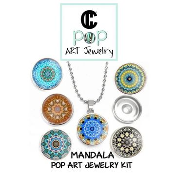 Mandala jewelry kit