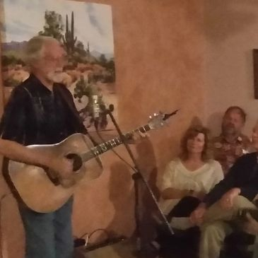 Jack Williams at our first House Concert