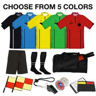 USSF Referee Starter Package for new soccer referees.