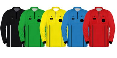 Long Sleeve USSF Soccer Referee Uniforms.