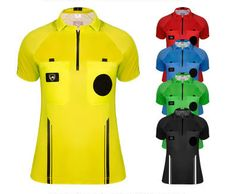 USSF Soccer Referee Uniform Jersey for women.