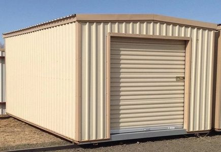 storage shed, storage building, metal storage