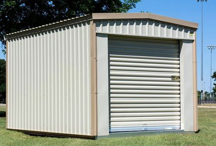 Portable storage shed, storage building, back yard storage shed, metal storage