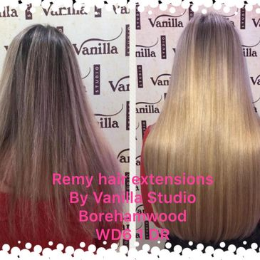 Watford Hair extensions - supply, fit and maintain services using remy human hair