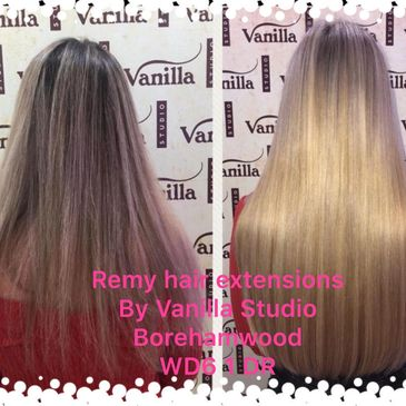 Hair extensions supply fit and maintain London  services.