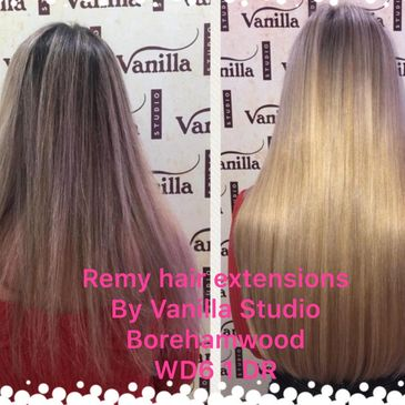 Beauty Works Hair Extensions For London Clients Vanilla