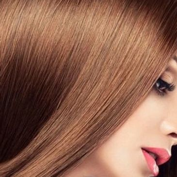 Keratin hair treatment also known as Brazilian Blowdry and Hair smoothing