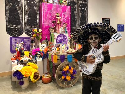 Maintaining cultural traditions like Dia de Muertos is important. Ethan Ratliff honors the day.