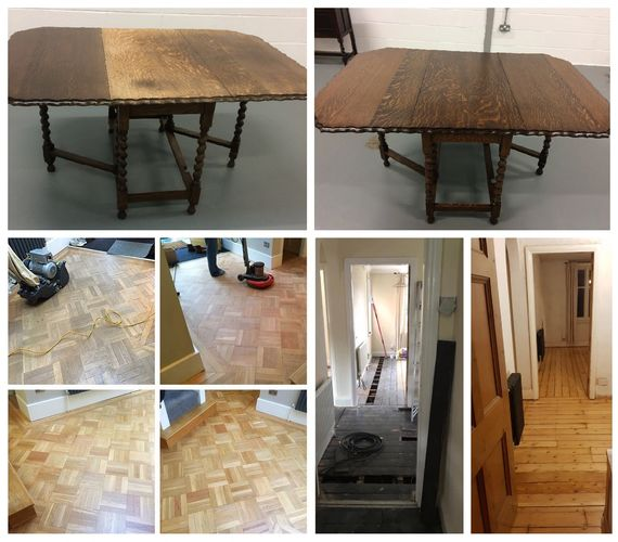Furniture & wooden flooring restoration Leicester, Nottingham & The Midlands
