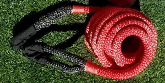 Freedom Ropes are tougher, safer, kinetic energy off road recovery ropes.