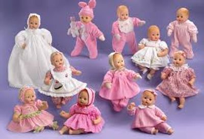 Madame Alexander Baby Huggums first play dolls