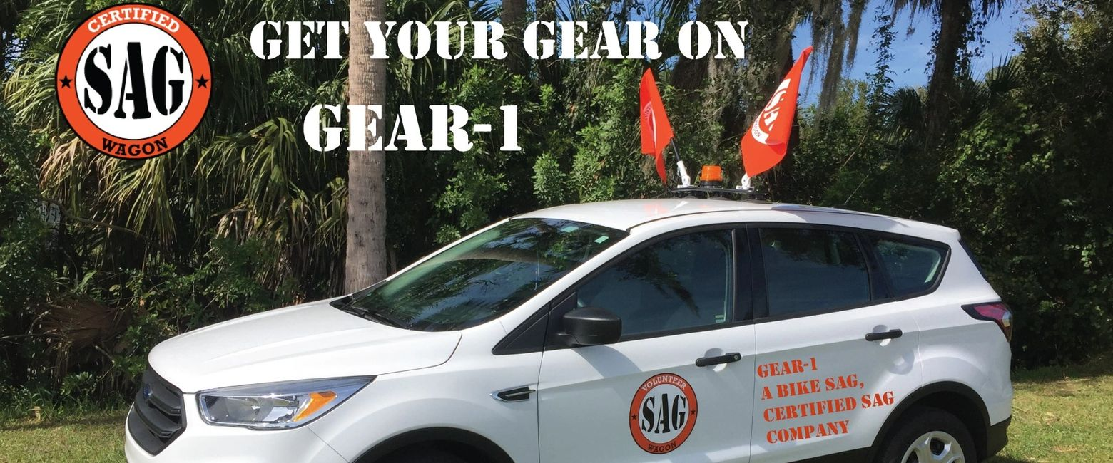 Bike SAG Wagon gear and Certified training for ride directors and volunteers. Equipment for SAG
