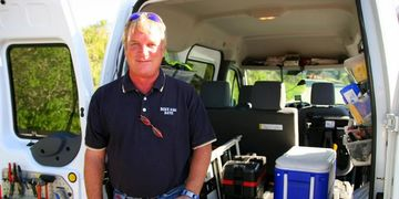 Bike SAG Dave for professional certified SAG wagon service. Why ride directors demand his service