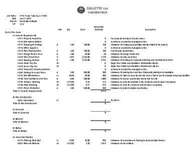 Gillette LLC Construction & Remodeling