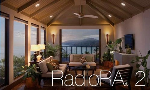 Lutron Radio 2 lighting control as offered as part of a home automation solution
